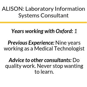 Consultant Spotlight Alison in Blog Graphic